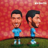 KODOTO 9# SUAREZ (URY) 2014 World Cup Soccer Doll