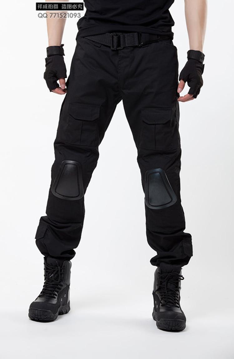 black tactical cargo pants - photo #41