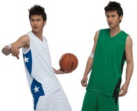 sports  Blank Basketball jerseys  training jersey  basketball cloth suit basketball uniform