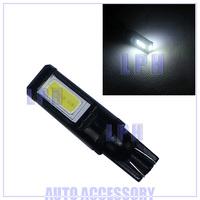 2X 7W T10 LED 194 168 W5W COB Interior Bulb Light Parking Backup Fog Brake Lamps White Canbus No Error