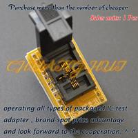 DFN8 WSON8 MLF8 socket  QFN8 to DIP8 Programmer adapter DFN8 WSON8 MLF8 socket Size=3mmX3mm