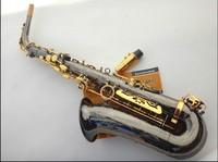 FREE SHIPPING EMS Salma 54 selmer alto saxophone e musical instrument black ni-au double key