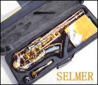 FREE SHIPPING EMS Salma 54 b selmer tenor saxophone musical instrument electrophoresis gold professional