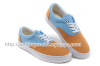 Double color canvas shoes, Hot 2014 new fashion unisex low men women sneakers for women sneakers for men and canvas shoes