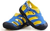 Q8 children shoes 2013 child toe cap covering sandals boys shoes girls shoes slip-resistant sandals size 25-36
