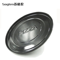 Free Shipping 9 enamel pizza plate professional tool