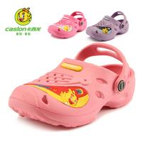 Girls' shoes new summer 2014 children in the garden of shoes Children hole hole shoes beach sandals size 25-30