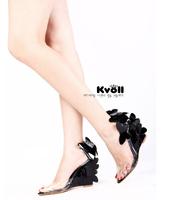 2014  korean new fashion lady Kvoll sandal  sexy ultra high heels  open toe shoe women  pumps shallow mouth  free shipping