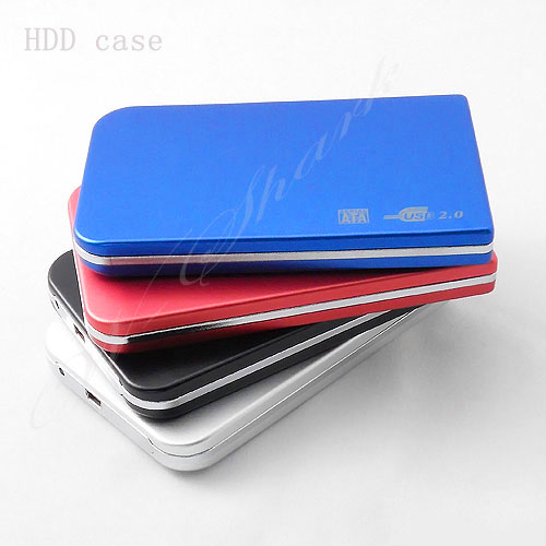 "free shipping new hot sale SATA 2.5"" USB 2.0 HDD Enclosure ,External Hard Drive 1tb HD External Storage Case, Fast Speed HD0004(China (Mainland))"