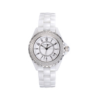Violin watch ladies watch the trend of fashion watches women's ceramic watch white fashion table
