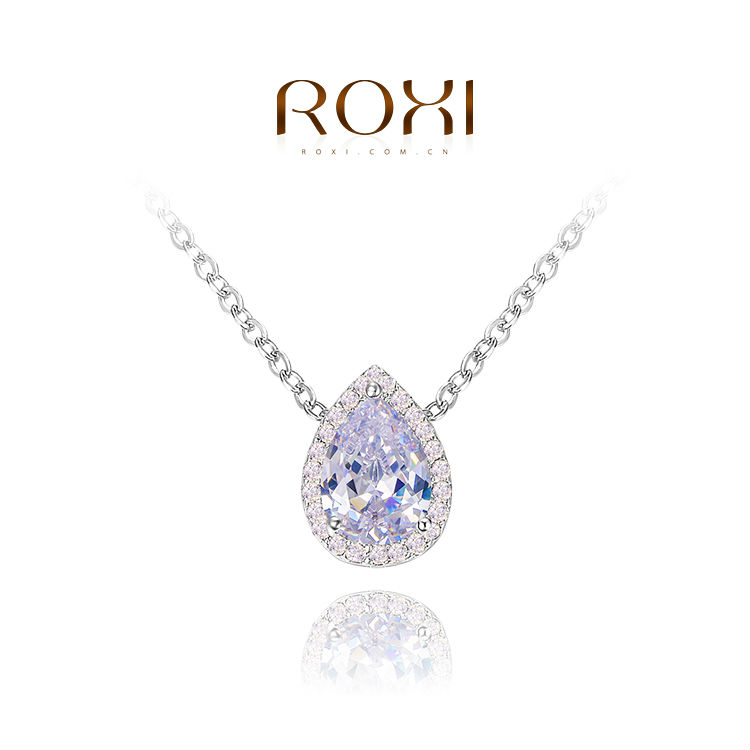 ROXI delicate heart necklaces,fashion jewelrys,nice platnium plated necklaces,fashion jewelrys for women,Christmas gifts(China (Mainland))