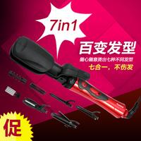 Jumbo roll pear flower hair roller hair sticks multifunctional hair straightener corn clip ceramic bulkness splint
