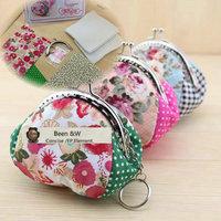 B125 Classical 8.5CM Four patch purse frame kits bag DIY handwork fabrics DIY Coin Purse 2pcs/lot