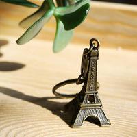 Free shipping!50 pcs Travel/key chain tower/France Eiffel Tower key chain