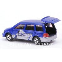1pcs Free shipping Mini alloy toy blue Private car #10