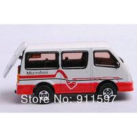 1pcs Free shipping Mini alloy toy car microbus #11