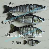 Hot ! Free shipping 4pcs/lot Fishing Lure Hard lure swimbait Value Pack