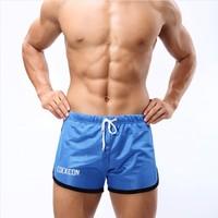 men's sports shorts male mesh fabric fitness boxers tennis/badminton short pants M-XXL gym shorts