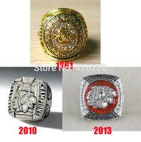 Replica NHL Free shipping 1961 2010 2013 Chicago Blackhawks stanley cup Hockey Championship Ring