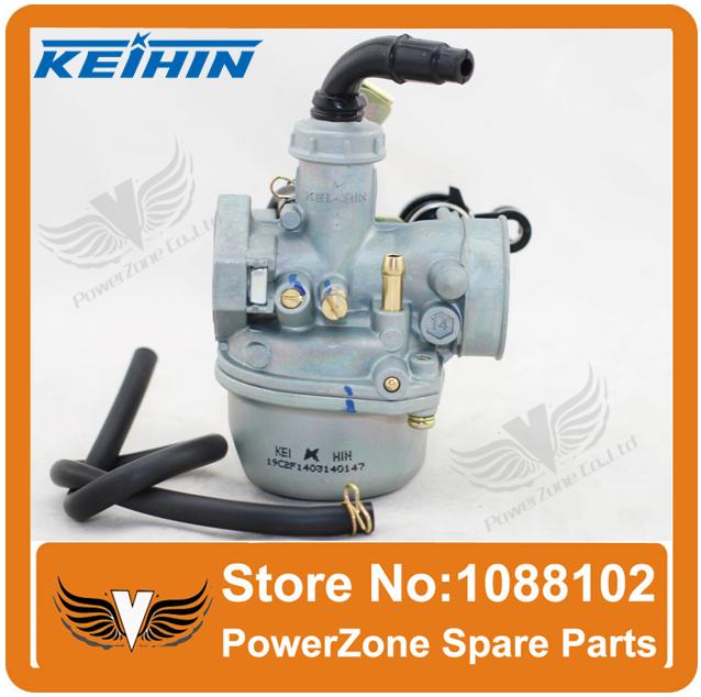 KEIHIN 19mm PZ19 Carburetor Hand Or Cable Choke 50cc 70cc 90cc 110cc Dirt bike ATV Quad GY6 Motorcycle Carburetor Free Shipping(China (Mainland))