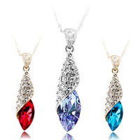 (Minimum order $ 15) Yiwu commodity crystal necklace light - b53 necklace