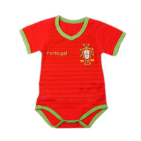 Portugal World Cup Brasil baby rompers, kids pajamas carters baby girl boy Jumpsuit kids bebe infantil newborn original New 2014