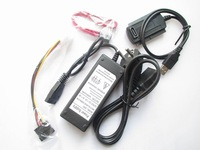 2014 Top Fasion Yes Stock Hot Sell Eu Standard Hard Drive Power Supply Adapter Usb 2.0 To Sata/ide Cable Converter
