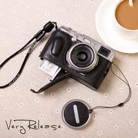 Genuine leather fuji x100s x100 camera bag camera case x100s holsteins base set
