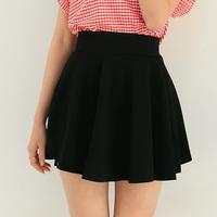 2014 New summer Women's fashion high waist slim sheds pleated skirt bust  black skirt 003 Free shipping