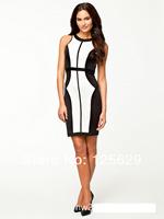 New Spring Summer 2014 Women Dress Sexy Dres  Evening Bodycon Dress Career Casual Dress Clubwear Club Prom Formal Dresses