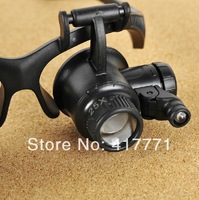 Magnifier Magnifying LED Light Glass Loupe Lens Eye Jeweler Watch Repair Freeshipping