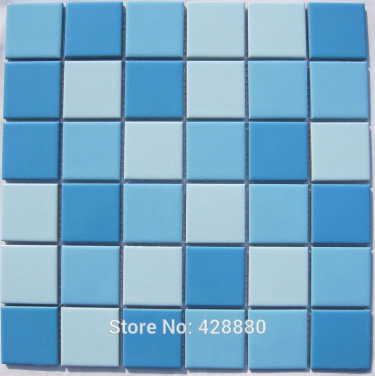 Porcelain mosaic tile kitchen backsplash tiles swimming pool tile brick TC 009 glazed ceramic floor tiles shower wall stickers(China (Mainland))