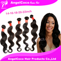 New Arrival M-Angelcoco Hair Products 5A Virgin Hair Body Wave 5pcs Lot Unprocessed Virgin Human Hair Weaves