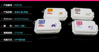 Small portable one week 7 points Ziya Tong folding kit Pill Cases & Splitters