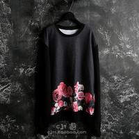 2013 given-chy rose flowers 17 Men sweatshirt outerwear