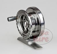 BLV50 All-Metal Aluminum Alloy Raft/Rock/Ice/Fly Centre Pin Fishing Reel
