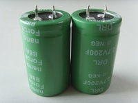 factory price 2.7v200f super capacitor farad capacitor long life 500000 Cycles (CE RoHS)