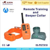 Dog training collar waterproof and rechargeable IS-PET910
