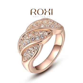 Roxi изысканный розово-золотой винт красочные кольца с AAA циркон, Ювелирные изделия ...