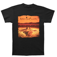 2014 OF ALICE IN CHAINS  Dirt On Black T-Shirt  Men's T- Shirt 100% cotton  Accept group/mix order