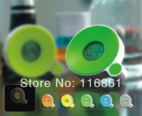 Hot Sell Wholesale Small And Convenient Cute Design Desktop Digital Clock Multicolor