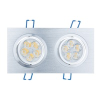 Bloomwin 10x3W Cool White Dimmable Advanced High Tech Energy-saving Twins LED Recessed Ceiling Downlight