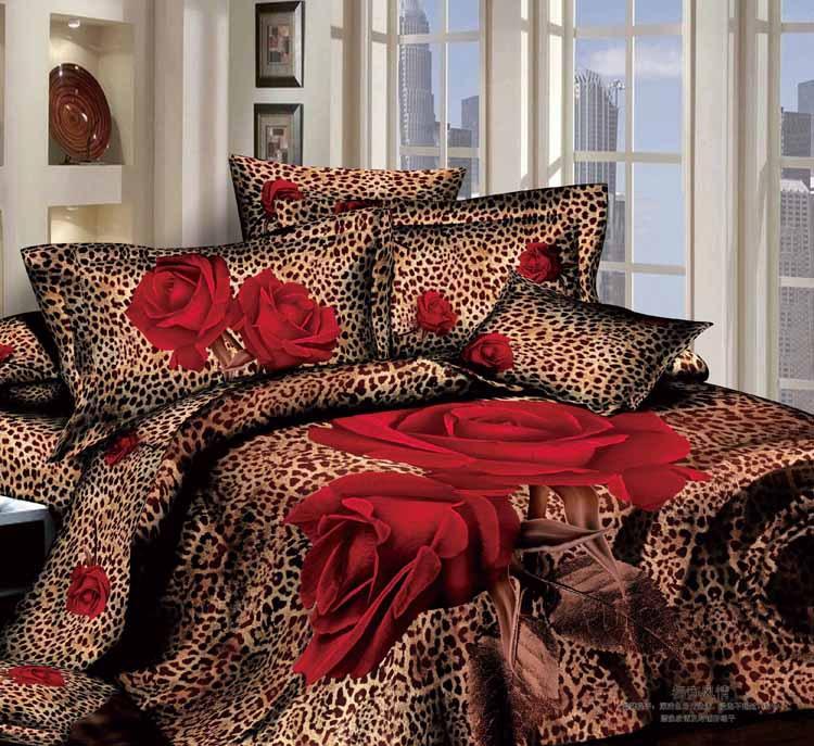Peaux housse de couette magasin darticles promotionnels 0 for Housse de couette leopard rose