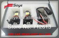 Car accessories 42w led car headlight ,h7,h8 h11 9005 9006 auto led car headlight