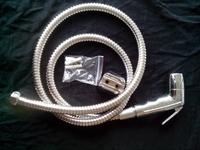 Handheld Bidet / Portable bidet  Diaper Sprayer Shattaf TS901-SET  Shattaf head+hose+bracket+fitting parts chrome