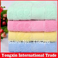 Free shipping 33*73cm 100% Bamboo Fiber Bath Towel Bulk Beach towel Spa Salon Wraps Terry Towels cheap bulk towel