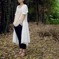 FREE SHIPPING High Quality Ramie Long Cardigan Summer Long-sleeve Women's Thin Original Design