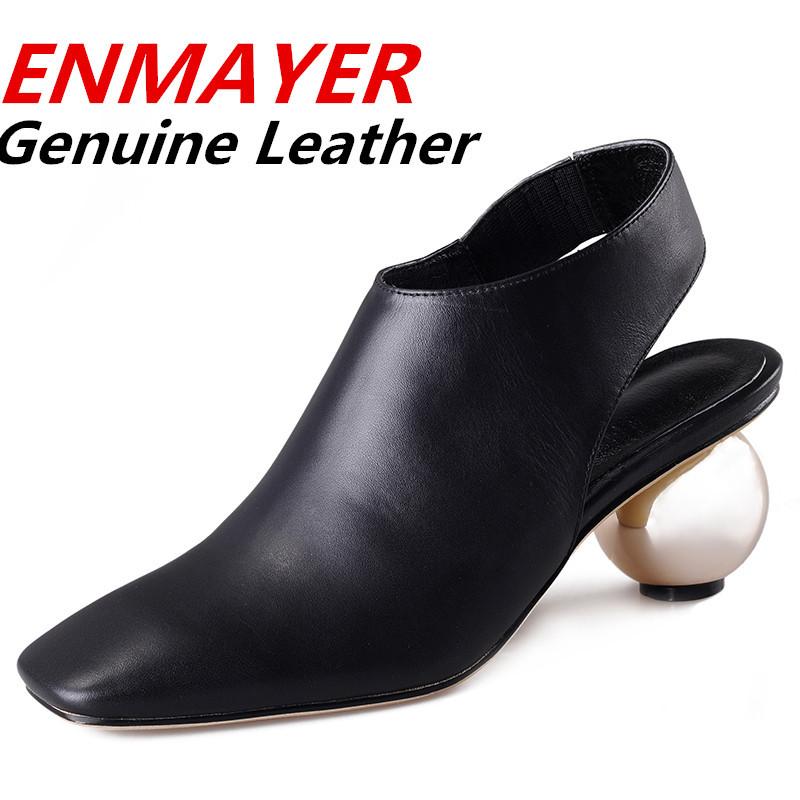 [해외]ENMAYER 새로운 2014 도착 이상 발 뒤꿈치 신발 여성 2014..