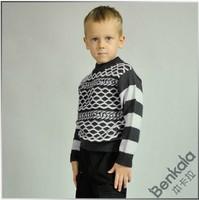Benkala bjqb029 male child o-neck sweater