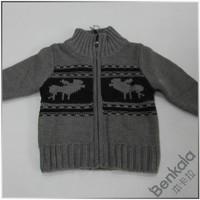 Benkala bhdb005 male female child wool zipper cardigan